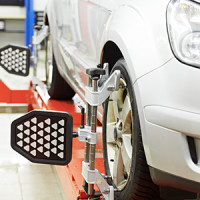 Wheel alignment service in Gadsden, AL.