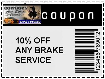 Gadsden brake service coupon