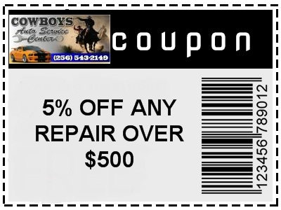 Gadsden car repair coupon